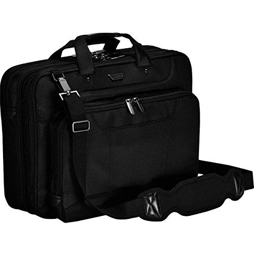 Targus Corporate Traveler Checkpoint-Friendly Laptop Bag for 16-Inch Laptop, Black (CUCT02UA15S)