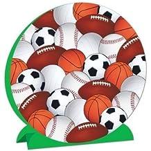 Beistle 3 Dimensional Sports Centerpiece, 9-Inch