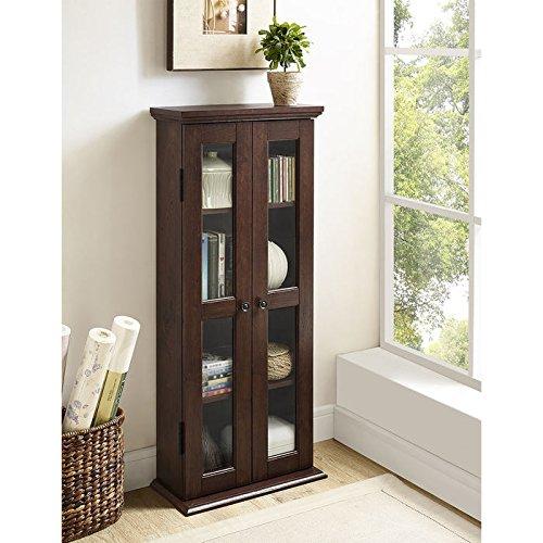 WE Furniture Media Storage Cabinet product image