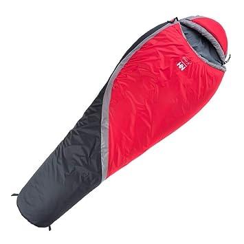HCMONSTER Saco de Dormir Saco de Dormir para Momia Camping Plegable Empalme Primavera Invierno 0-5 Grado, Rojo: Amazon.es: Deportes y aire libre