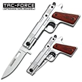 Tac Force TF-662 Assisted Opening Folding Knife, 4.5-Inch Closed, Outdoor Stuffs