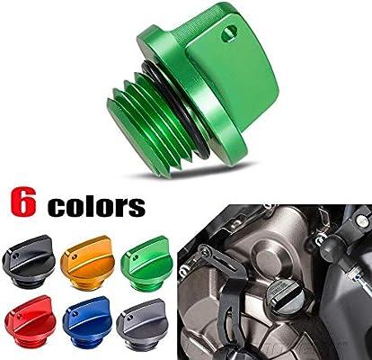 Amazon.com: CNC Oil Filler Cap Plug for Kawasaki Z1000 Z800 ...