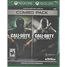 CALL OF DUTY BLACK OPS 1 & 2 XBOX 360 COMBO