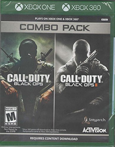Call of Duty: Black Ops 1 & 2 Combo Pack X360/Xbox One