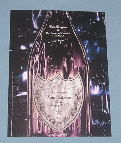2012-print-ad-dom-perignon-champagne-rose-vintage-2000-the-power-of-creation-by-david-lynch-original