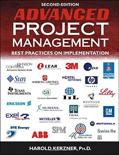 Advanced Project Management: Best Practices on Implementation by Harold Kerzner (2004-12-01)