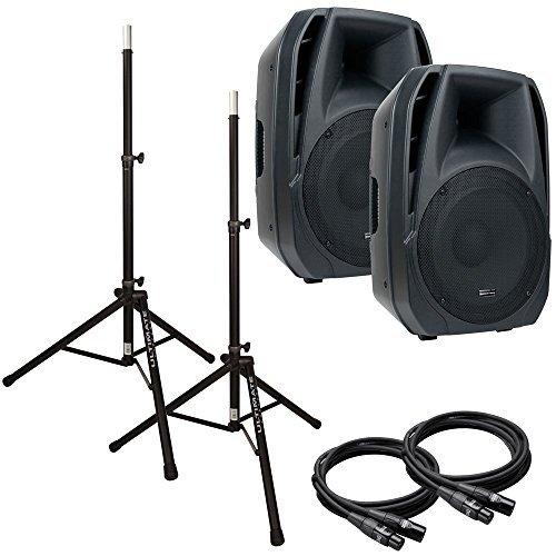 - American Audio ELS15A 15 in Powered PA Bundle