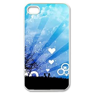 love Original New Print DIY Phone Case for Iphone 4,4S,personalized case cover ygtg604724