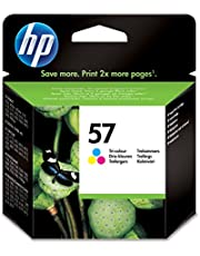 HP Inc. 57, C/M/Y, 17ml Pagina's: 500, Hoge capaciteit, 1578833 (Pagina's: 500, Hoge capaciteit Blister multi tag)
