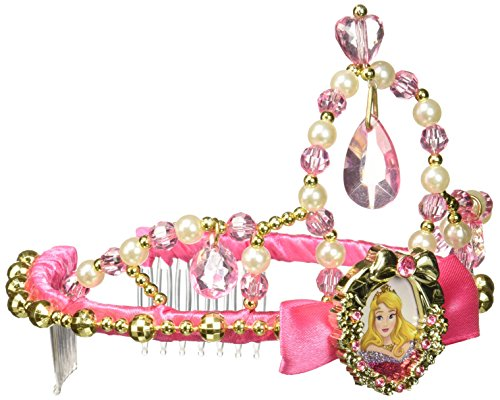 [Disguise Aurora Classic Disney Princess Sleeping Beauty Tiara, One Size Child, One Color] (Classic Childrens Book Costumes)
