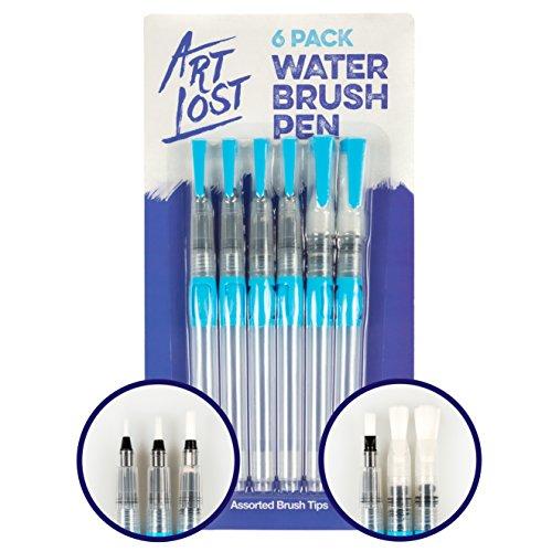 ArtLost Water Brush Pen Assorted Tips