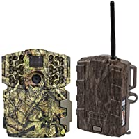 Moultrie No Glow Invisible 20MP Mini 999i IR Trail Game Camera + Field Modem