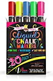 Liquid Chalk Markers for Blackboards - Bold Color