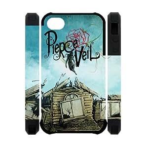 Unique Custom Pierce the Veil House Background iPhone 4/4s Case Cover
