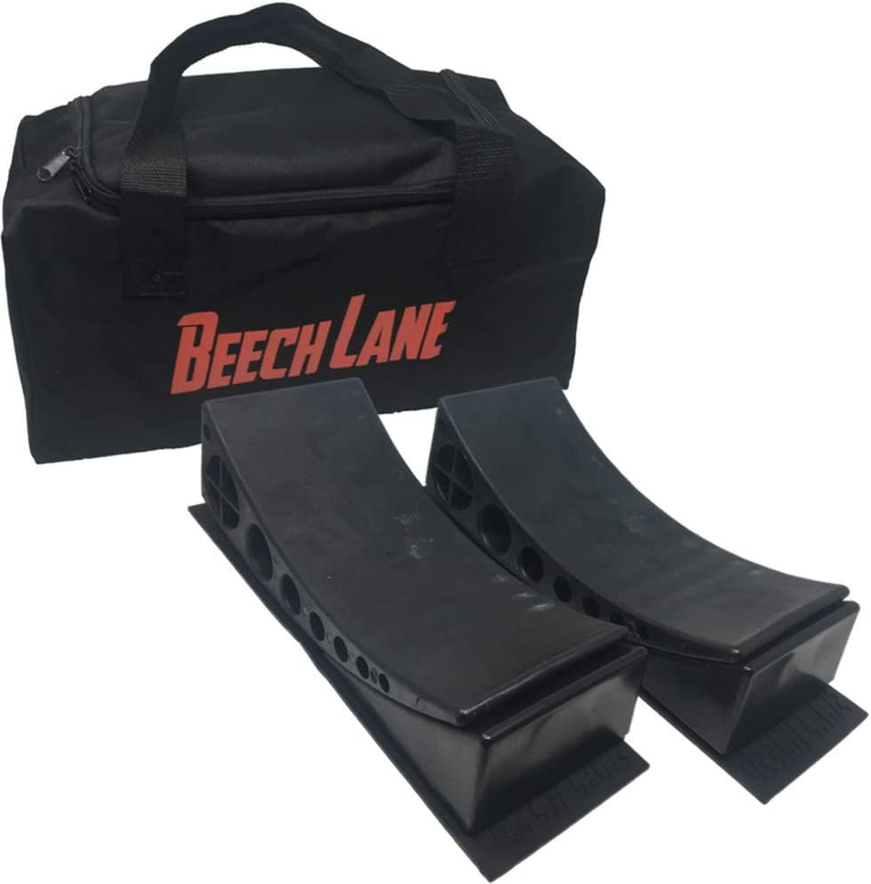 Beech Lane Camper Leveler 2 Pack with Carrying Bag - Precise Camper Leveling