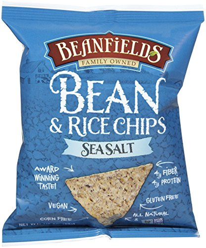 Beanfields Sea Salt Bean and Rice Chips, 1.5 oz