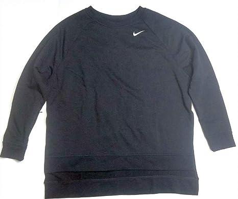 9b535111a4f6ce Nike Women s Dri-FIT Air Jordan AJ4307-010 Sportswear Black Sweatshirt Size  L