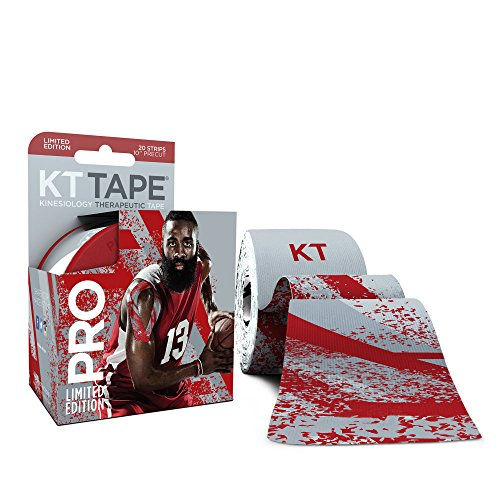 KT-TAPE-PRO-Elastic-Kinesiology-Therapeutic-Tape-20-Pre-Cut-10-Inch-Strips-James-Harden