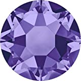 2000, 2038 & 2078 Swarovski Flatback Crystals Hotfix Tanzanite | SS16 (3.9mm) - Pack of 1440 (Wholesale) | Small & Wholesale Packs | Free Delivery