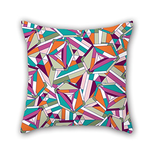 PILLO 16 X 16 Inches / 40 By 40 Cm Geometry Pillow (Lite Wheelset)