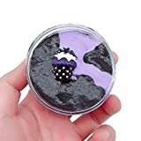 callm 60/100ML Halloween Bat Slime Mud Fluffy Floam Slime Stress Relief Toy Scented Sludge Toy