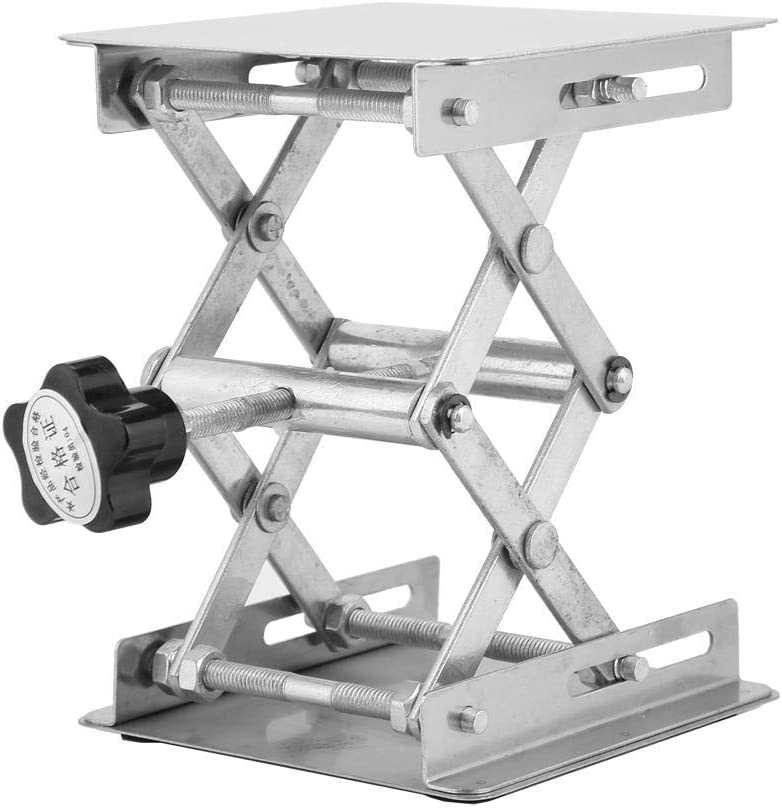 for Laboratory Experiment 100100mm Lifting Stand Rustproof Lifting Table