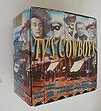 TV's Cowboys 7 VHS Tape Boxed set The Lone Ranger, Cisco Kid, Kit Carson, Gabby Hayes, Death Valley Days, Range Rider, Annie Oakley, Frontier Doctor, 26 Men, Yancy Derringer, Shotgun Slade, Barbara Stanwyck Show, High Chaparral