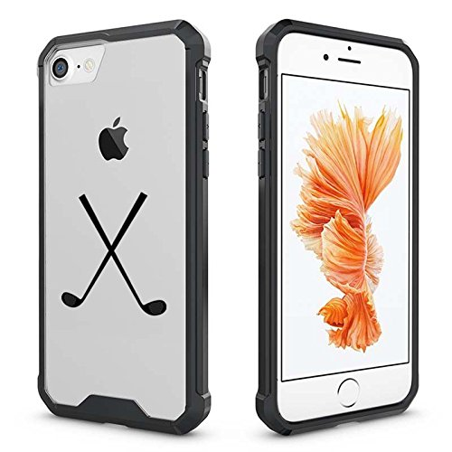 new concept 50170 31415 Amazon.com: For Apple iPhone Clear Shockproof Bumper Case Hard Cover ...