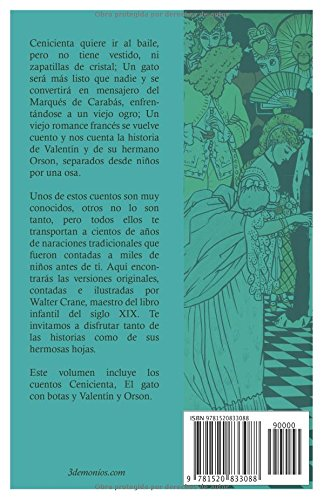 Cenicienta y otros cuentos (Spanish Edition): Walter Crane, Agustín Fest, Sol González: 9781520833088: Amazon.com: Books