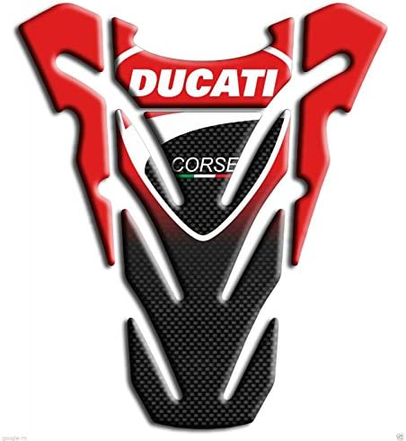 Protection de reservoir Moto MODELS en Gel compatible DUCATI corse Pad r/éservoir 3D