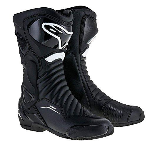 Alpinestars SMX-6 V2 Drystar Mens Motorcycle Boots - Black -