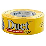 "BAZIC 1.88"" X 60 Yards Yellow Duct Tape (Case of 12)"