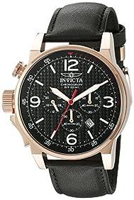 Invicta Men's 20138 I-Force Analog Display Japanese Quartz Black Watch