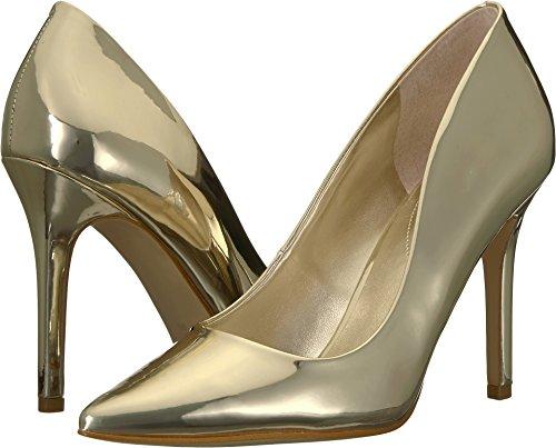 GUESS Womens Blixee Gold Superior Mirror PU 5.5 - Gold Guess