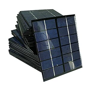 51QdeW259GL. SS300  - Sunnytech 1pc 2w 6v 333ma Mini Solar Panel Module Solar System Solar Epoxy Cells Charger DIY