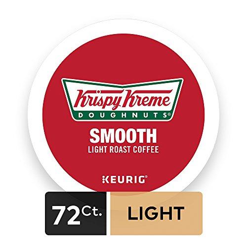 Krispy Kreme Doughnuts, Keurig Single-Serve K-Cup Pods, Smooth Light Roast Coffee, 72 Count (6 Boxes of 12 Pods) by Krispy Kreme (Image #1)