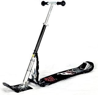 TOOMD Planche à Neige pour Adultes, activités de Plein air Hivernales en Aluminium Tout-Terrain de Surf des neiges Freestyle Scooter