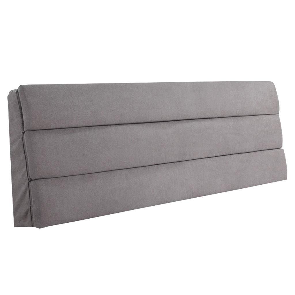 ベッドサイド さいず ダブルベッドサイドクッションベッド背もたれソファ装飾された柔らかい枕腰椎パッド取り外し可能 (色 : ピンク, サイズ : B07RD8ZSHG さいず : 180X55CM) B07RD8ZSHG 150X55CM|グレイ ぐれい グレイ ぐれい 150X55CM, GOODSMAN あんしんプラス:a999f8b8 --- cgt-tbc.fr
