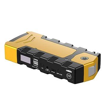AWAKMER Amplificador Automático De Batería para Automóvil De 12V con Arranque De Salto Portátil con Cables