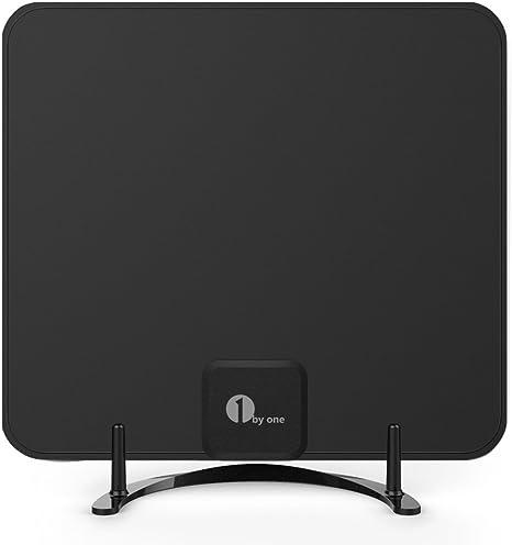 Antena HDTV de Freeview de 1byone con soporte 3 Meter (AA) - Black negro