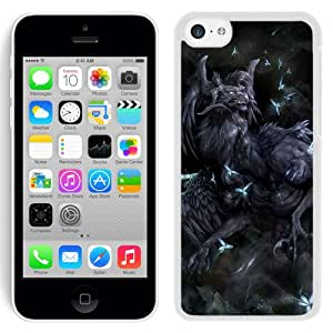 Beautiful And Unique Designed With Monster Fairies Butterflies (2) For iPhone 5C Phone Case