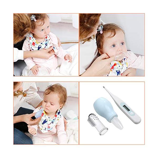 Lictin Set per la Cura del Bambino - Beauty BabyCare - Forbicine per Unghie e Capelli,Spazzolini da denti,Tagliaunghie… 3
