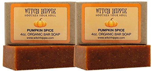 Pumpkin Spice 4oz Natural Bar Soap 2 pack by Witch Hippie