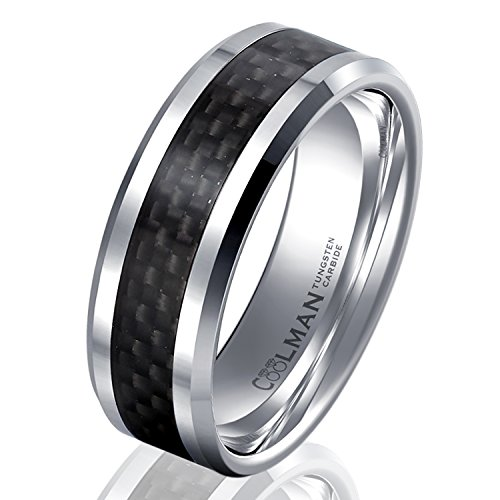 Coolman Tungsten Carbide Comfort Wedding