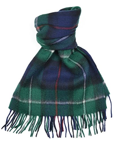 Lambswool Scottish Clan Scarf Mackenzie Modern Tartan