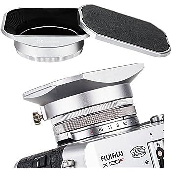 Amazon Com Jjc Metal Square Lens Hood W Abs Hood Cap