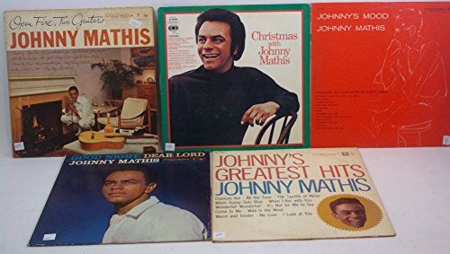 Johnny Mathis - Johnny Mathis Lot Of 5 Vinyl Record Albums Good Night, Dear Lord And More - Zortam Music