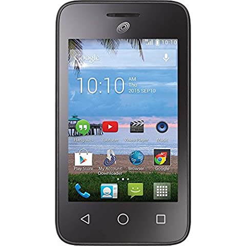 Tracfone Alcatel Onetouch Pixi Glitz A463BG (Android 4 Phone Cheap)