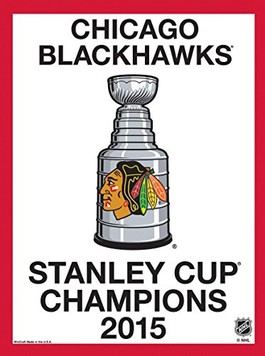 015 Stanley Cup Champions Replica Stanley Cup Champions 27 X 37 Inch Banner/Flag (Champions Replica)