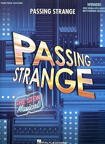Passing Strange Broadway Selections (The Script Sheet Music)
